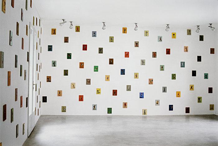 Galerie Vasistas, Montpellier, 2001.